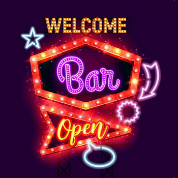 40x40 Welcome Bar c LED подстветкой FP00285 (арт.5-42662)
