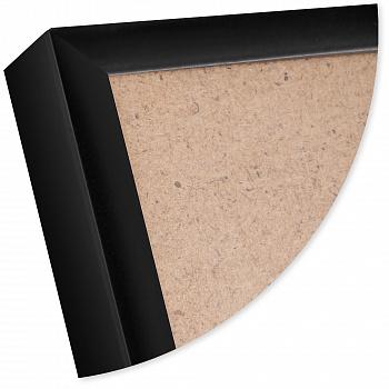 Рамка для постера  Нельсон 84x119 (A0) черный 7мм алюминий ПН-01, арт. 5-42845. Фоторамки купить в Москве и России. Фото, цена, отзывы!